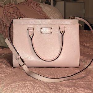 Kate Spade pale pink purse